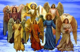 ángeles Arcángeles Y Sus Correspondencias Compartiendo Luz Con Sol