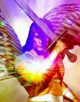 Resultado de imagen de energías y espadas angelicales
